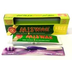 """Зубная паста дабур """"Miswak"""" 170 гр. (зубная щётка в подарок)"""