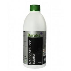 """Масло чёрного тмина """"Baraka"""" в стеклянной таре (сертифицированное) 500 мл."""