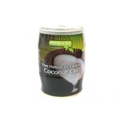 """Масло для волос """"Coconut Oil"""" кокосовое 400 мл. в жестяной банке (Hemani)"""