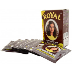 "Хна ""Royal"" Brown (коричневая) 10 гр. (made in India)"