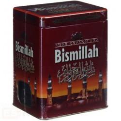 Чистый цейлонский чай Bismillah в железной красной банке 150 гр.