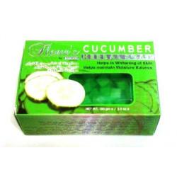 """Мыло """"Fleur's"""" Cucumber 100гр. (мыло ручной работы огуречное, отличный подарок) Hemani"""