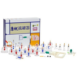 Аппарат для хиджамы (24 банок в синей коробке) с магнитными элементами на банках