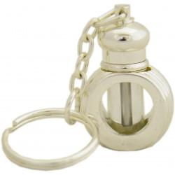 Флакончик - брелок пустой для миска 3301S Key chain siver                 2 ml.