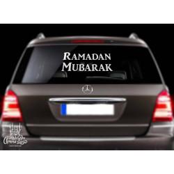 Наклейка на машину Ramadan Mubarak
