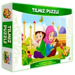 """Пазл TILMIZ """"Стремление к знаниям - обязанность каждого мусульманина"""""""