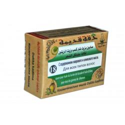 Мыло Dakka kadima№ 18 с лавровым и оливковым масла 100гр.