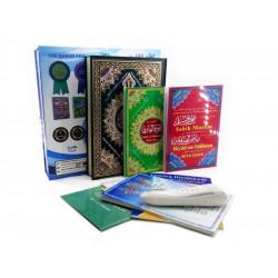 Мусхаф с читающей ручкой в картонном футляре (перевод на разные языки