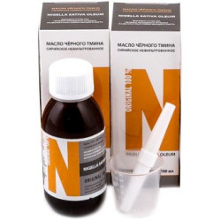 Масло черного тмина сирийское нефильтрованное Arabian Secrets - Nigella Sativa oleum 100 мл (стекло)