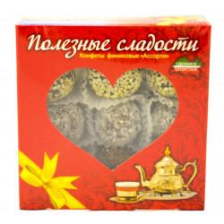 Конфеты финиковые ассорти Полезные сладости 260 гр.
