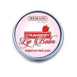 Бальзам для Губ Клубника/Lip Balm Strawberry Hemani 4.5 мл.