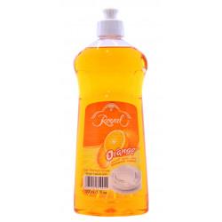 Средство для мытья посуды Royal - Orange 500мл (Апельсин. Улучшенная формула
