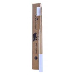 Зубная щетка из бамбука щетины без ВРА-полимеров (средняя жесткость щетины) 1шт.