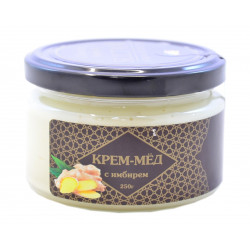 Крем-мёд с имбирём Sultan arabian products 250гр.