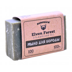 Мыло для бороды Borodach Elven Forest  Эльфийский лес 100 г. Россия