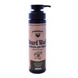 Шампунь для бороды Borodach Beard Wash питание и блеск 250мл. Россия