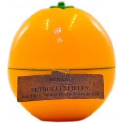 Вазелин косметический ароматический апельсин Hemani