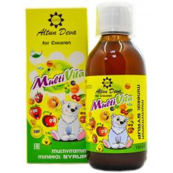 Мультивитаминный сироп для детей МультиВита AltunDeva 150 мл